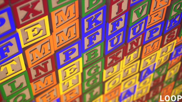 Thumbnail for Alphabet Blocks for Children