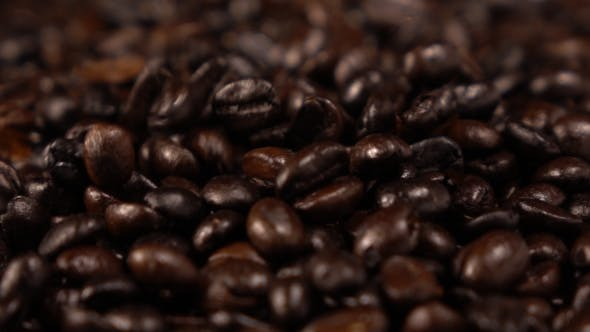Thumbnail for Coffee Beans Falling