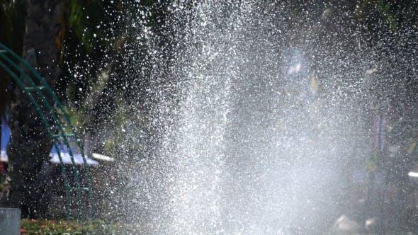 Thumbnail for Water Splashing Fountain