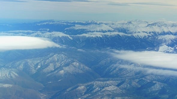 Thumbnail for Mountains View From Plane