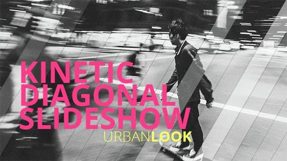 Thumbnail for Kinetic Diagonal Slideshow