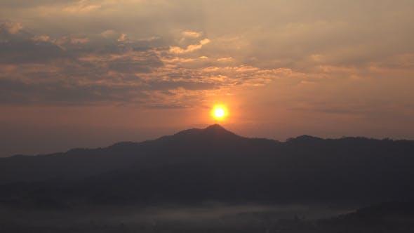 Thumbnail for Sun On Mountain In Morning