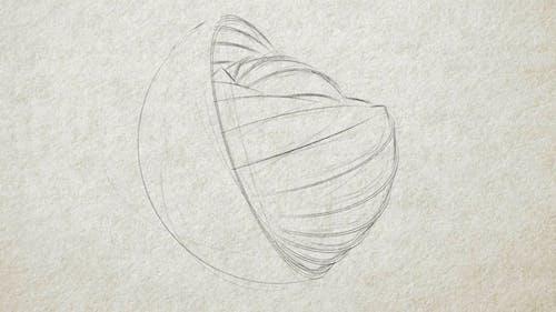 Pencil Sketch - Logo Reveal