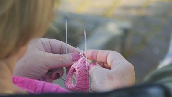Thumbnail for Knitting Socks For Granddaughter