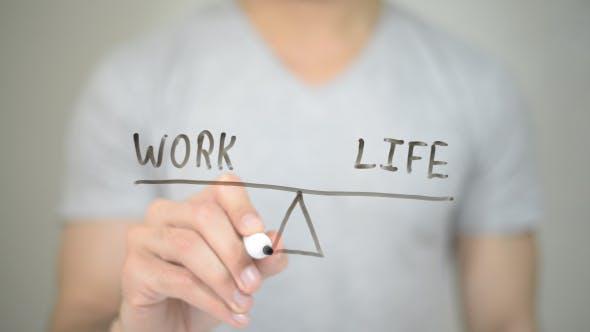 Thumbnail for Work Life Balance, Illustration