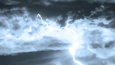 Heavy Lightning Storm