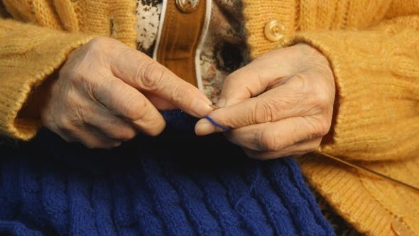 Thumbnail for Grandmother Hands Knit
