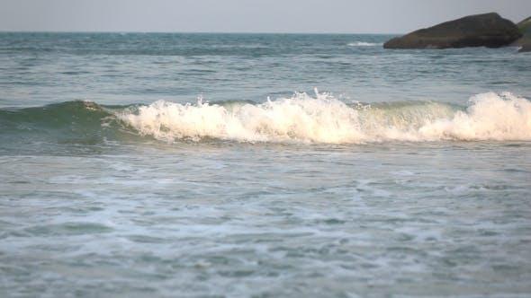Sea wave At Sea