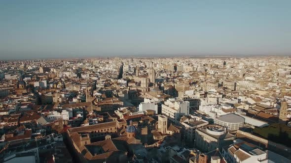 Thumbnail for Aerial Shot of Valencia, Spain