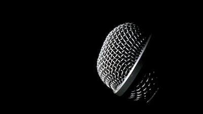 Microphone Rotating