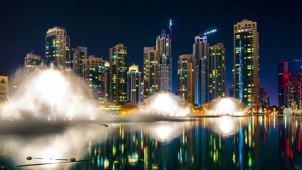 Cover Image for Dubai Night Show Fountain