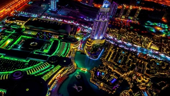 Cover Image for Best Night View Ddubai Fountain Show