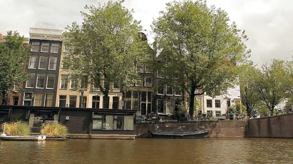 Thumbnail for A Boat Trip On The Canals Of Amsterdam