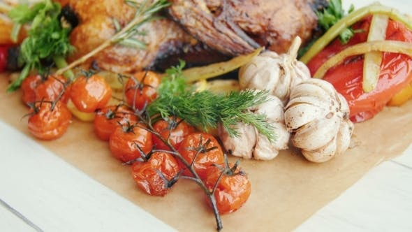 Cover Image for Chicken With Vegetables