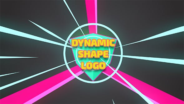 Thumbnail for Dynamic Shape Logo Reveal