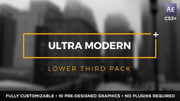 Thumbnail for Ultra Modern Titles and Lower Thirds
