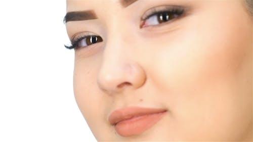 Face Of Asian Girl