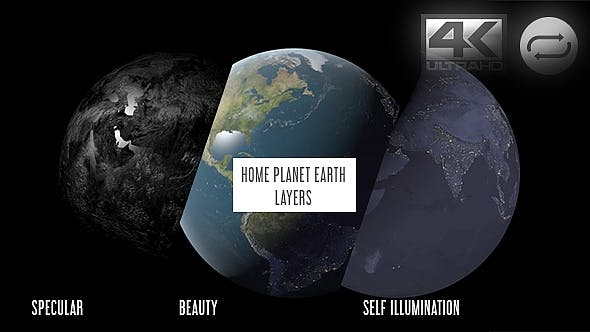 Thumbnail for Planet Earth Layers Pack V1 - 3 Pack