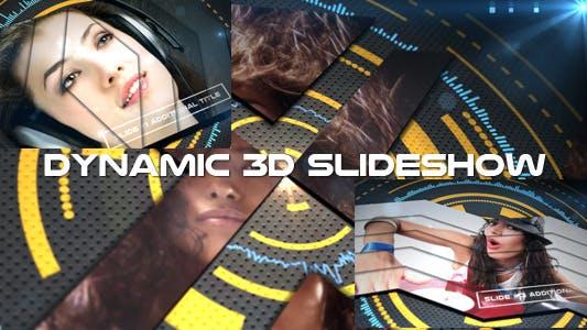 Thumbnail for Diaporama 3D dynamique