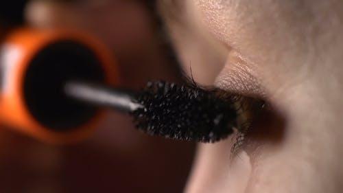 Beauty Woman Eye Makeup
