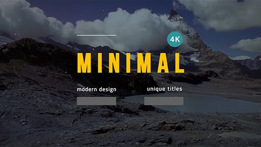 Thumbnail for Minimal Lower Thirds