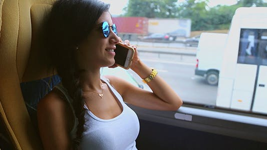 Cover Image for Pretty Girl Talking on Phone