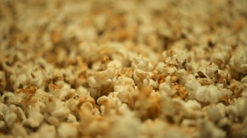 Selling Popcorn At Cinema