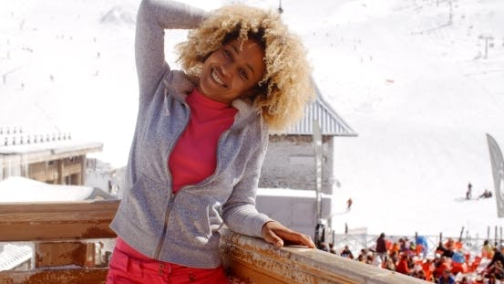 Thumbnail for Pretty Young Woman Enjoying Her Winter Vacation