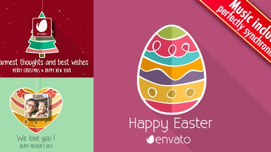 Christmas - Easter - Mothers Day Minimal