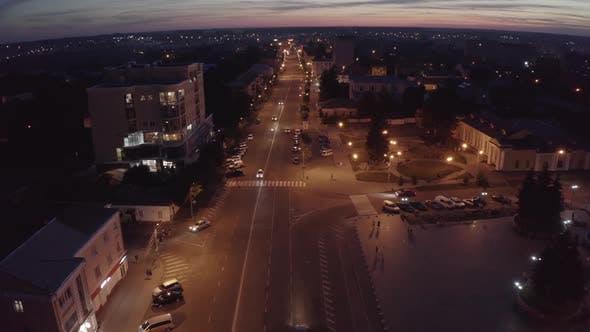 Thumbnail for Night Streets City Berdichev, Ukraine