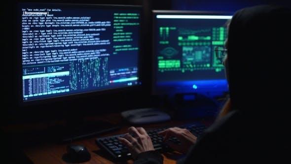 Thumbnail for Girl Hacker Cracks a Password