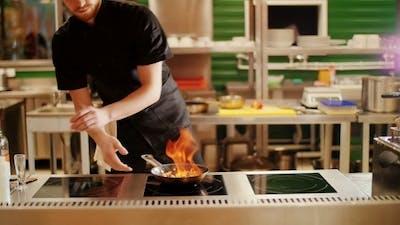 Cooking Fajitas