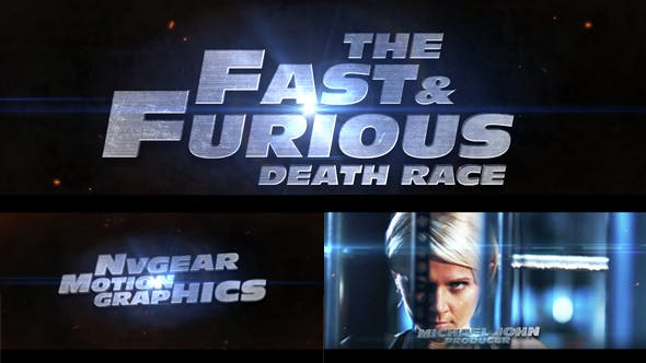 Fast & Furious Cinematic Trailer