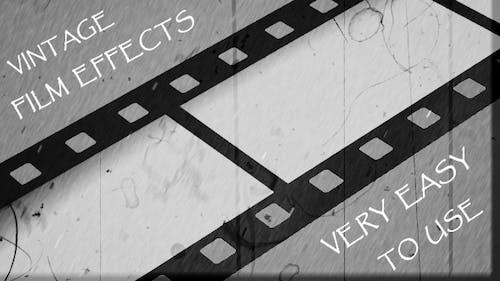 Vintage Film Effects