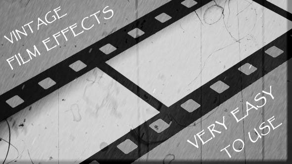 Thumbnail for Vintage Film Effects