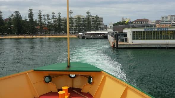 Thumbnail for Ferry Departs Manly Wharf
