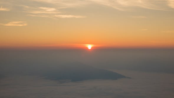 Thumbnail for Sunrise On Mountain Fog In The Morning