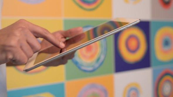 Thumbnail for Designer Using Tablet Pc