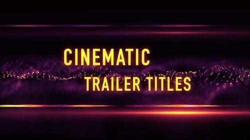 Filmmusik Trailer Titel