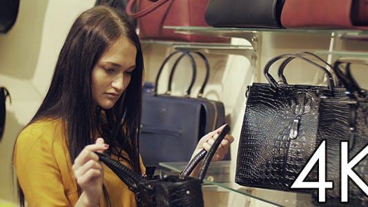 Auswahl von Handtaschen