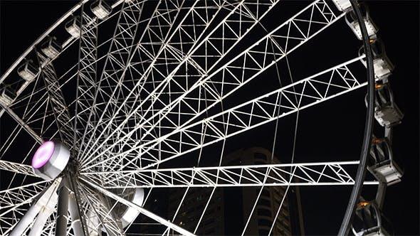 Thumbnail for White Ferris Wheel Night Shoot