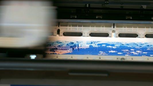 Thumbnail for The Printer Prints on Paper