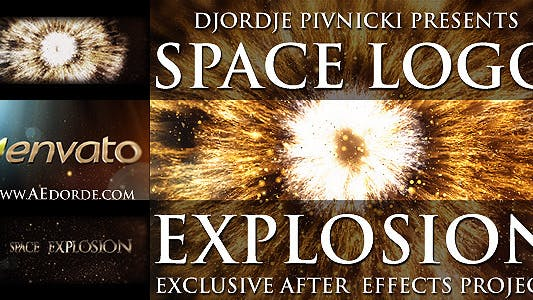 Thumbnail for Space Logo Explosion