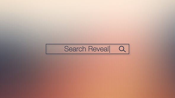 Thumbnail for Search Bar Logo Reveal