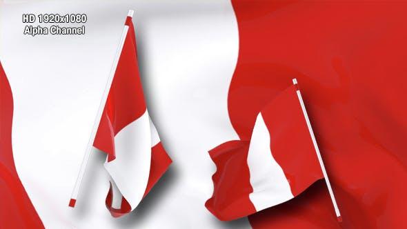 Flag Transition - Peru
