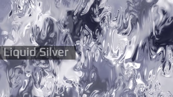 Thumbnail for Liquid Silver Background