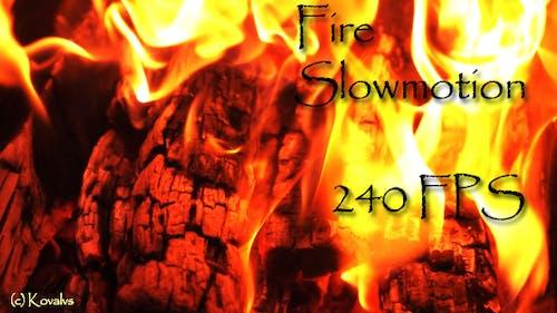 Fire Slow Motion