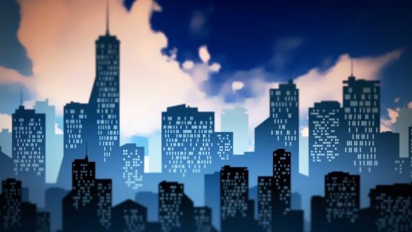 Thumbnail for Cartoon City Background