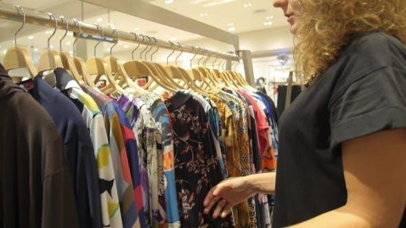 Thumbnail for Shopping At Garments Apparel Clothing Shop