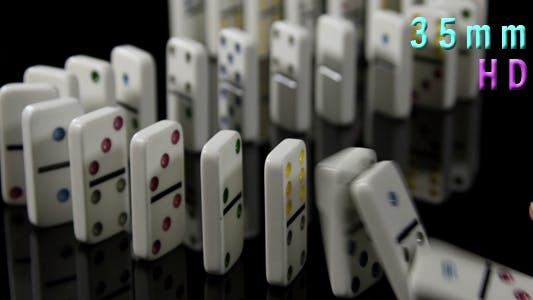 Thumbnail for Finger Pushing Over Domino 03